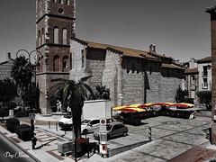 catalogne - catalunya (png nexus) Tags: street church desaturation rue glise march