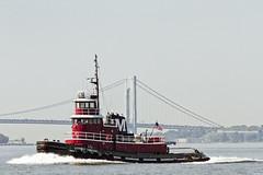 r_160721117_beat0043_a (Mitch Waxman) Tags: kimberlyturecamo moran newyorkcity newyorkharbor tugboat verrazanonarrowsbridge newyork