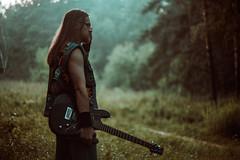 IMG_5344 (rodinaat) Tags: longhair longhairman longhairedman longhaired beard bearded metal metalhead powermetal trashmetal guitar musican guitarplayer brutal forest summer sun