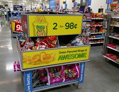 Onion flavored rings of awesome (l_dawg2000) Tags: 2016 blackdecor20 deptstore discountstore food formerstuckeyssite grandopening groceries grocery memphis new opening pharmacy postprojectimpact spark sparklogo tennessee tn walmart unitedstates usa