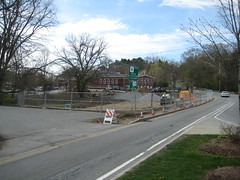 02 Greenway worksite, from Rt27 intersection (chelmsfordpubliclibrary) Tags: cpl chelmsford chelmsfordpubliclibrary chelmsfordlibrary greenway