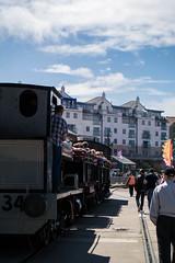 Train (clogette) Tags: bristol bristolharbfest bristolharbourfestival harbourside train harbour festival england unitedkingdom gb