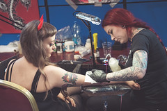 Dublin Tattoo Convention is next week (shaymurphy) Tags: tattoo tattoos tattooed tattooing tattooist tatoo tatu irish girl