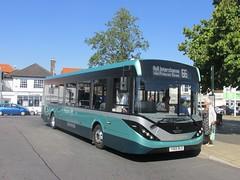 East Yorkshire 137 YX65RLO Hessle Square on 66 (3) (1280x960) (dearingbuspix) Tags: eastyorkshire eyms alexanderdennis adl 137 demonstrator enviro200mmc enviro200 mmc majormodelchange yx65rlo