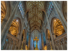 st mary redcliffe church bristol (Wizard CG) Tags: st mary redcliffe church bristol hdr fisheye gothic architecture grade i listed building stained glass anglican parish epl7 england ngc world trekker micro four thirds 43 m43 olympus