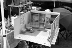 Barbie's dream house (bergytone) Tags: analog film bw canon 110ed 110 cartridge ilford fp4 xtol barbie dream house