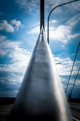 IMGP6545.jpg (Bentry) Tags: rhein brcke bridge perspective perspektive sky himmel clouds wolken theodorheussbrcke