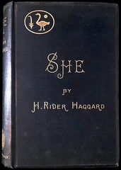 """""""She"""" by H. Rider Haggard. London: Longmans, Green & Co., 1887. First Edition (lhboudreau) Tags: sf she fiction book books story haggard novel sciencefiction ayesha shewhomustbeobeyed hardcover firstedition 1887 hardcovers fantasynovel hardcoverbooks hardcoverbook hriderhaggard sciencefictionnovel fantasystory sciencefictionstory fictionstory fictionnovel lostrace longmansgreen longmangreen lostracenovel"""