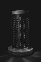 365.349 - Cheese Grater (Justin Spradlin) Tags: kitchen closeup sigma objects flashlight 365 1770 2014 d7000