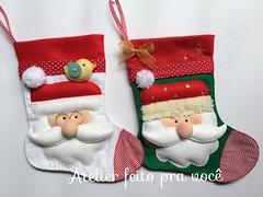 Meia Papai Noel (Ana Ribeiro2010) Tags: natal felt noel feltro papai