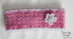 Pink girls headband earwarmer (darnloopyetsy) Tags: xmas uk girls baby boys hat kids children for discount hats clothes gifts gift newborn etsy headband newborns babyclothes photographyprop babyhats