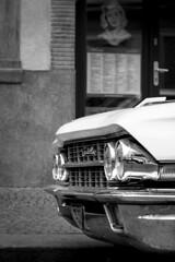 Cadillac (Rebel T2i (digital)) Tags: auto car prague prag praha cadillac sw 2014 khlergrill