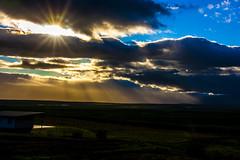 _MG_4209_edited-1 (Arnar.L.K) Tags: blue winter sunset cloud iceland sland vetur sveitin sl sk bltt bl bstaur slarsetur dkk