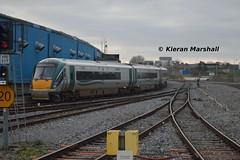 22063 at Heuston, 20/12/14 (hurricanemk1c) Tags: dublin irish train rail railway trains railways irishrail rok rotem 2014 heuston icr iarnrd 22000 22063 ireann iarnrdireann 3pce