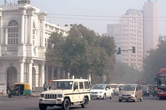 New Delhi (Mayank Austen Soofi) Tags: new winter haze place delhi connaught walla