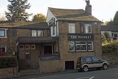 Bradford, Monkey (Dayoff171) Tags: uk greatbritain england monkey europe bradford yorkshire eu pubs westyorkshire publichouses gbg boozers banktop gbg2015 bd74aq