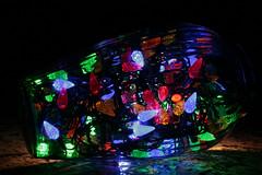 Night Light (Cindy's Here) Tags: christmas canon fun lights holidays christmaslights vase ansh scavenger7