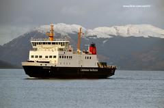 Argyle (Zak355) Tags: snow ferry scotland clyde hills calmac rothesay isleofbute mvargyle