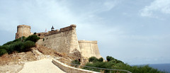 Tabarka fort road (melissaenderle) Tags: tunisia fortress