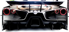 Conceptual Art (Idreamofpies) Tags: light red sculpture white art beauty lines car metal back nissan rear wing grand vision motor concept gt fos goodwood strut exhaust motorsport indicator tourer 2020 downforce