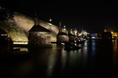 Charles Bridge (lncgriffin) Tags: longexposure nightphotography travel zeiss nikon europa europe prague praha adventure czechrepublic charlesbridge oldtown ceskarepublika karluvmost distagon staremesto vltavariver kampaisland d610 distagon2128zf