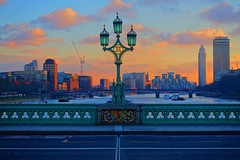 Westminster Bridge, London. (liamw0ng) Tags: street uk travel bridge london westminster photography quiet empty parliament symmetry beginner