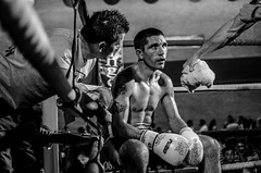 Fightclub:  advice from the corner (sophie_merlo) Tags: bw sport boxing