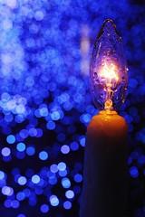 pray for the tiny light (hauko) Tags: christmas winter lights tokyo illumination canoneoskissx2