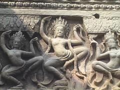 Stone Carved Aspara