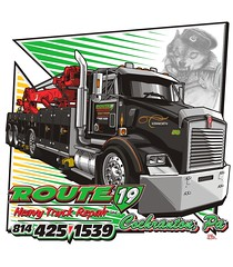 "Route 19 Heavy Truck Repair - Cochranton, PA • <a style=""font-size:0.8em;"" href=""http://www.flickr.com/photos/39998102@N07/16106141030/"" target=""_blank"">View on Flickr</a>"