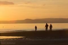 IMG_5694_adj (md93) Tags: sunset sea sky clouds clyde southbeach arran ardrossan