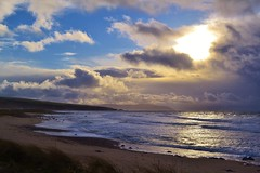 Not All Life Is An Oil Painting (Michelle O'Connell Photography) Tags: uk winter sea sky sun beach nature weather coast scotland alba scottish coastline westport westcoast westpoint kintyre campbeltown a83 argylbute isleofgigha michelleoconnellphotography