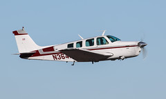 Beech A36 Bonanza N364HP (ChrisK48) Tags: airplane aircraft beechcraft 36 1973 bonanza dvt phoenixaz kdvt beecha36 phoenixdeervalleyairport n364hp