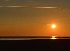 Another Lytham Sunset (Tony Worrall Foto) Tags: county uk sunset sea england sun coast stream glow tour open place northwest country north scenic visit location lancashire lytham shore area serene sunlit northern update lythamstannes attraction settingsun lancs fylde welovethenorth 2015tonyworrall
