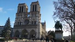 20150124_120122 (SierPinskiA) Tags: paris france clock seine cathedral louvre charlemagne gothic eiffeltower notredame arcdetriomphe riverseine lovelockbridge