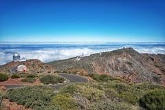 Blick vom Roque De Los Muchachos auf La Palma. (And Hei) Tags: mountains volcano spain kanaren berge caldera lapalma spanien vulkan kanarischeinseln roquedelosmuchachos astrologie sigma1020
