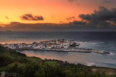 Caión (Chencho Mendoza) Tags: sea atardecer mar nikon coruña galicia islas atlántico costadamorte d600 caión a sisargas chenchomendoza