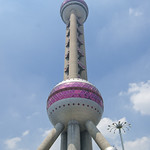 "Oriental Pearl Tower<a href=""http://www.flickr.com/photos/28211982@N07/16458621160/"" target=""_blank"">View on Flickr</a>"