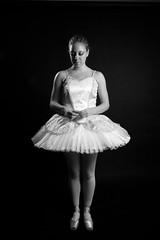 Ballerina (Jesonis|Photography_On/Off (super busy)) Tags: blackandwhite ballet girl dance ballerina canon20d dancer canondslr alienbees flickrunitedwinner