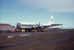 Photo-RB007 (Norm Barnecut) Tags: keflavik boac stratocruiser iceland