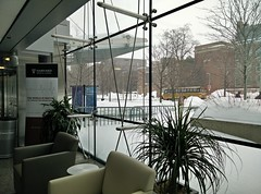 Boston Snow 2015 (bettlebrox) Tags: winter snow storm boston longwood insideoutside hms nrb 2015 harvardmedicalschool newresearchbuilding mickt