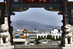 520 Thonghai (farfalleetrincee) Tags: china travel mountains tourism nature landscape temple asia islam religion buddhism mosque adventure guide yunnan urbanlandscape confuciustemple  tonghai