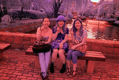 Infrared Aomori Girls (aeschylus18917) Tags: girls cute beautiful smile japan women posing aomori 日本 青森 2485mm ダニエル danielruyle aeschylus18917 danruyle druyle ルール ダニエルルール