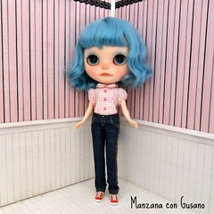 Vaqueros para blythe disponibles!  Jeans for blythe available!