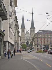 140907155921 () Tags: bridge switzerland luzern chapel zrich lucerne  2014 hofkirche kapellbrcke 10  lowendenkmal gletschergarten     jesuitchurchzrich   alhambramirrorlabyrinth