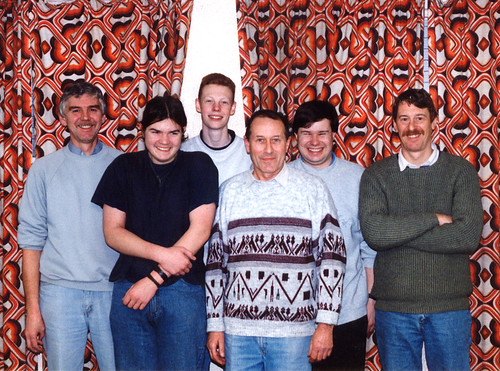 1995 Humpty Dumpty 09 (from left Richard Young, Ian Godley, Andrew Milner, Dave Smith, Mark Hampton, David Pepper)