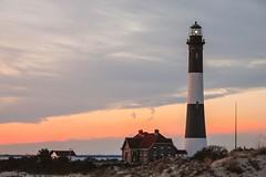 Fire Island (john.blake89) Tags: sunset sky usa lighthouse ny color beach island fire nikon 5700
