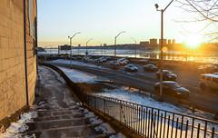 IMG_2910 (kz1000ps) Tags: nyc newyorkcity winter sunset snow tower skyline architecture skyscraper frozen newjersey highway cityscape manhattan horizon uptown icefloes hudsonriver february fortlee goldenhour palisades washingtonheights riversidedrive henryhudsonparkway