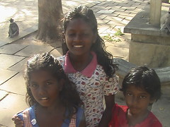 Our Young Tour Guides in Kataragama