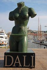 Marseille (Maillekeule) Tags: sculpture port marseille venus provence dali quai vieux honneur spaciale